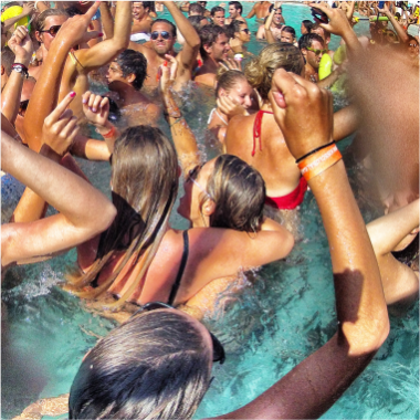 Dj Pool Party and Activities